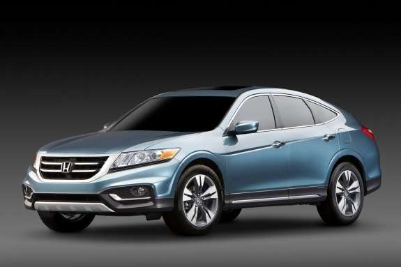 Honda Crosstour Concept side-front view