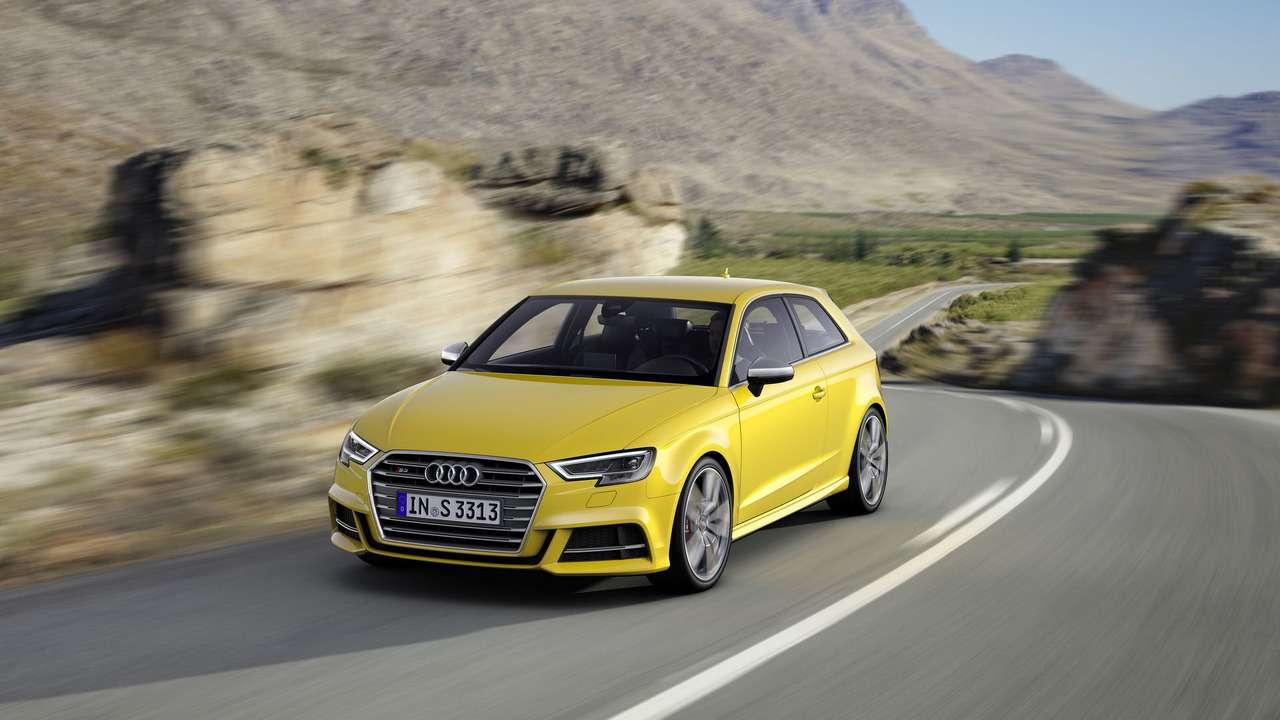 Там, закрасивыми глазами: Audi A3и S3помолодели— фото 572422