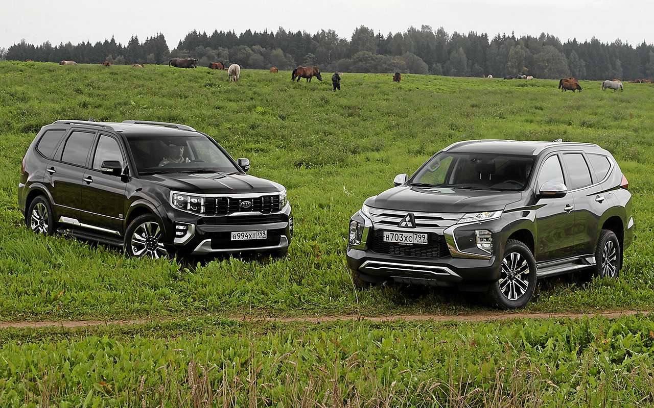 Kia Mohave и Mitsubishi Pajero Sport - 4:3 в пользу Кореи - фото 1283041