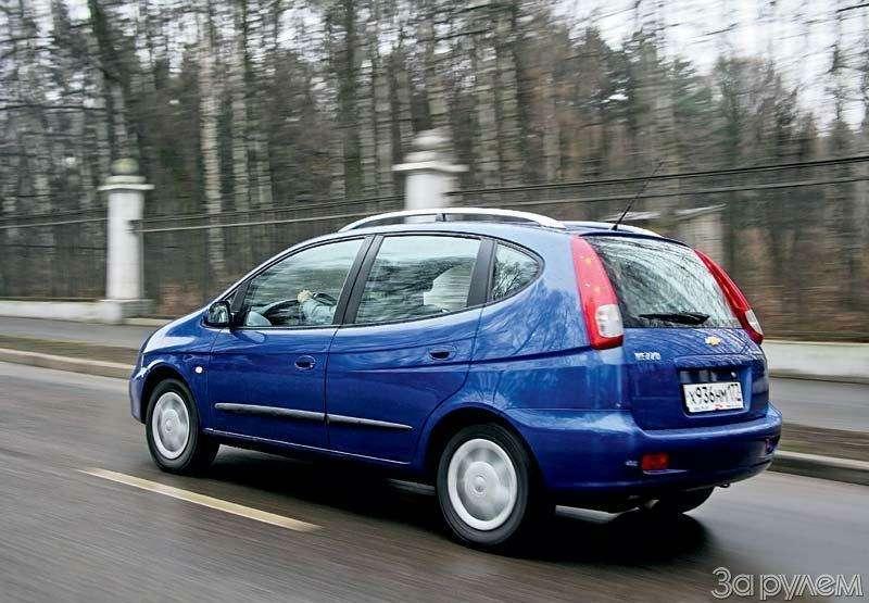 Тест Chevrolet Rezzo, Fiat Doblo, Skoda Roomster. Квадратные метры— фото 70458