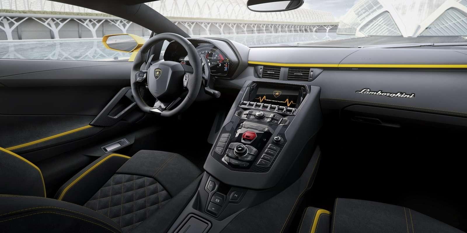 Полное управление: Lamborghini представила Aventador S— фото 681037
