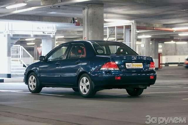 Тест Ford Focus II, Renault Megane, Mitsubishi Lancer. Двое наодного— фото 58316