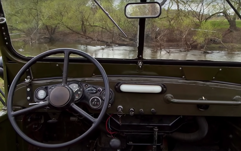 ГАЗ-69: кабриолет сдверьми нашпингалетах