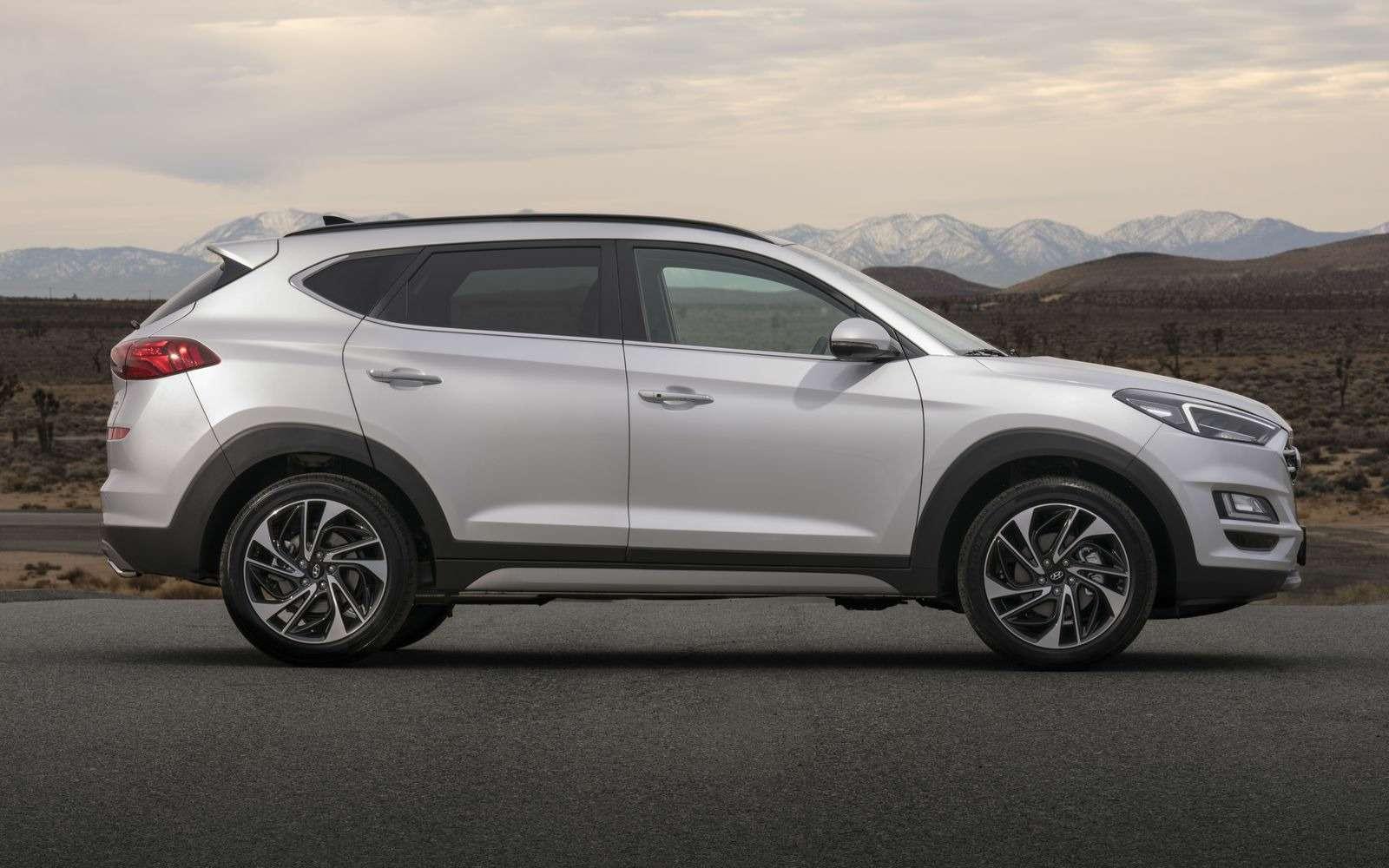 Hyundai Tucson пережил обновление. Итам сплошная «косметика»— фото 857932