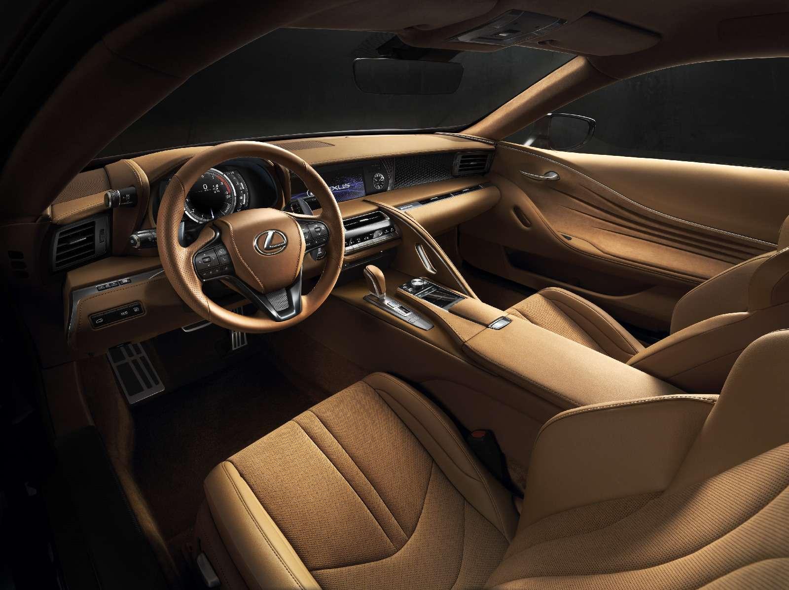 Объявлена рублевая цена наяпонский суперкар Lexus LC500— фото 715423