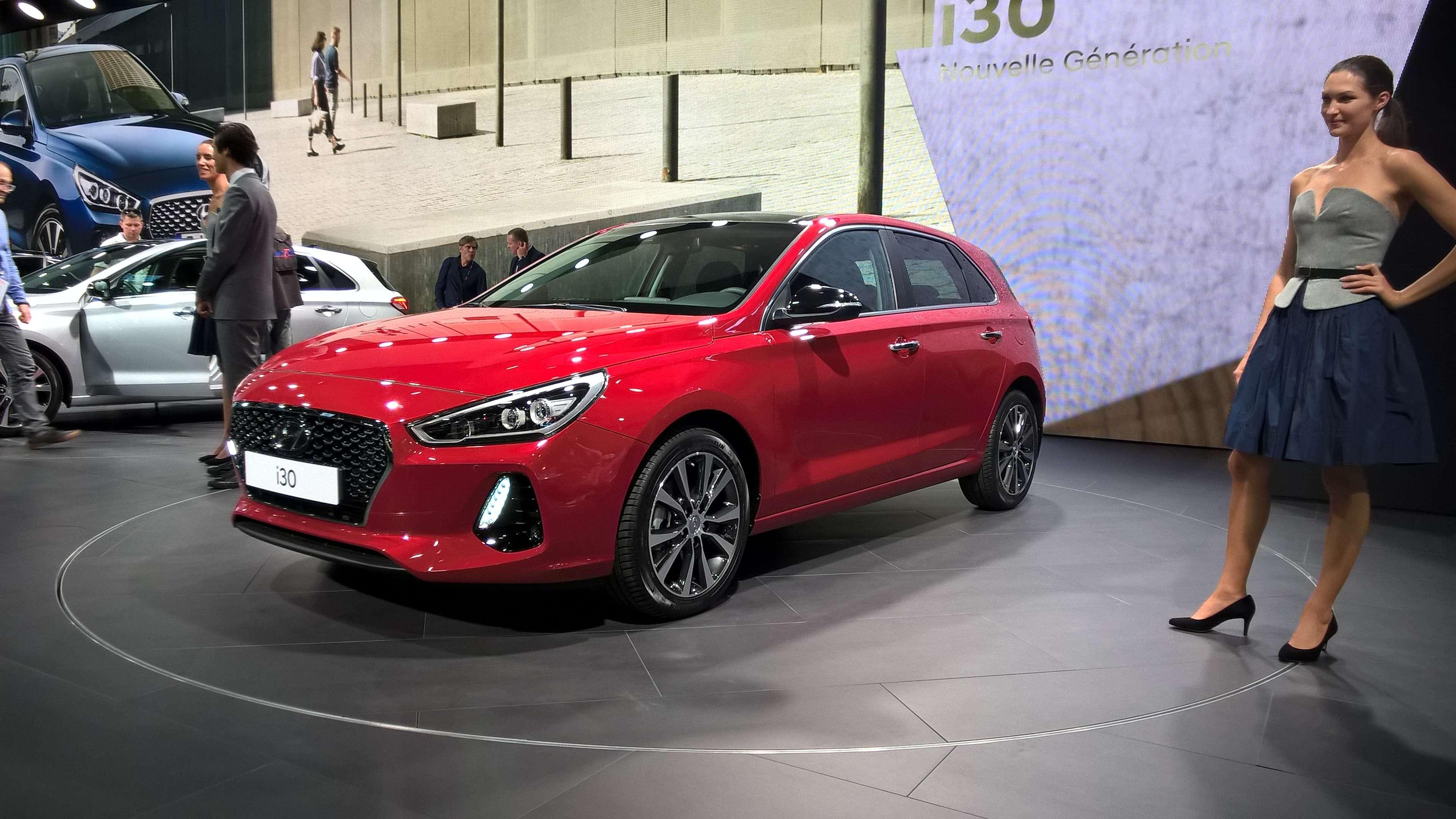 В тени концепта: вПариже дебютировал новый Hyundai i30— фото 642322
