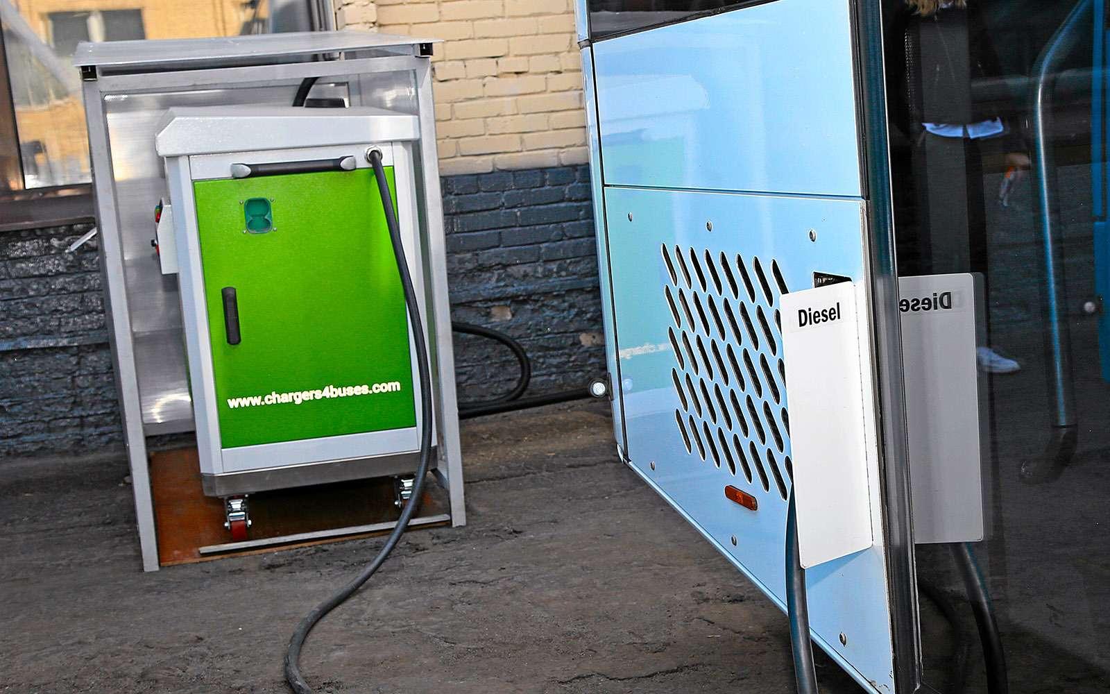 Москва хочет закупить электробусы— тестируем претендента изФинляндии— фото 765267