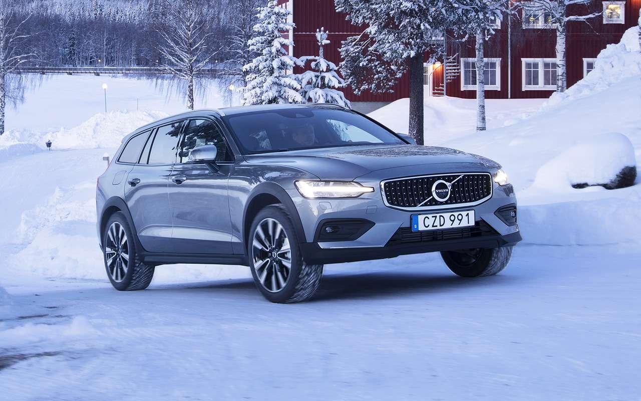 Новая версия Volvo V60 Cross Country дляРоссии: первый показ— фото 946083