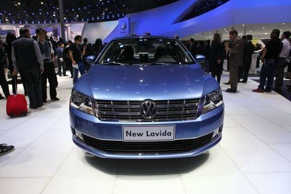 Volkswagen Lavida front view