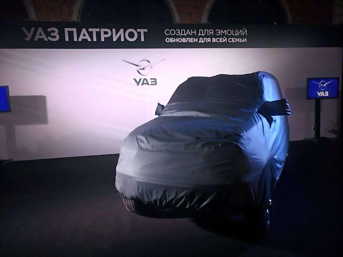 Обновленный УАЗ Патриот нацелился наэкспорт— фото 648031