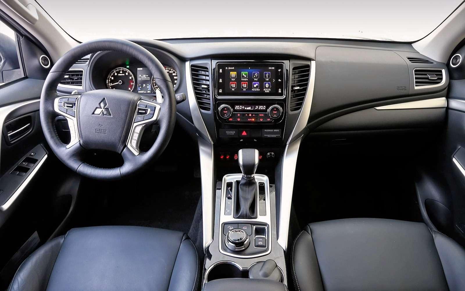 Mitsubishi объявила старт продаж ицены наPajero Sport— фото 609547