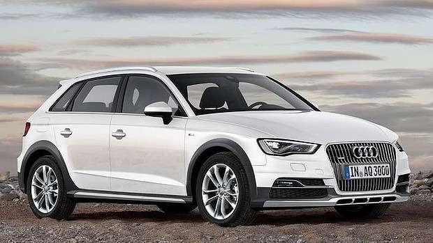 Audi A3Allroad rendering side-front view_no_copyright