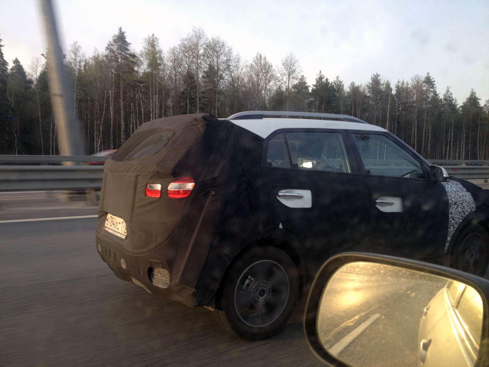 Hyundai Creta засекли наКАДе вСанкт-Петербурге— фото 586033