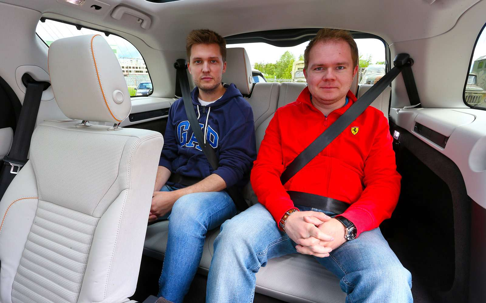 Новый Land Rover Discovery против конкурентов— тест ЗР— фото 784665