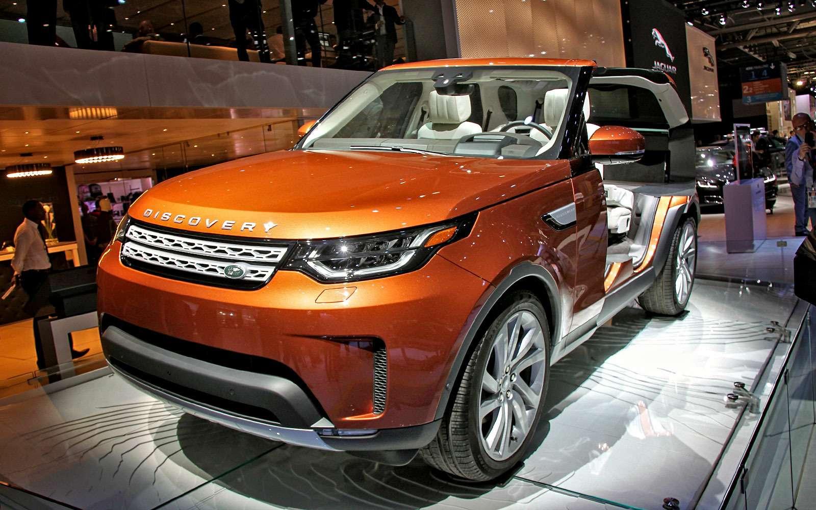 Land Rover рассекретил новый Discovery— фото 642001