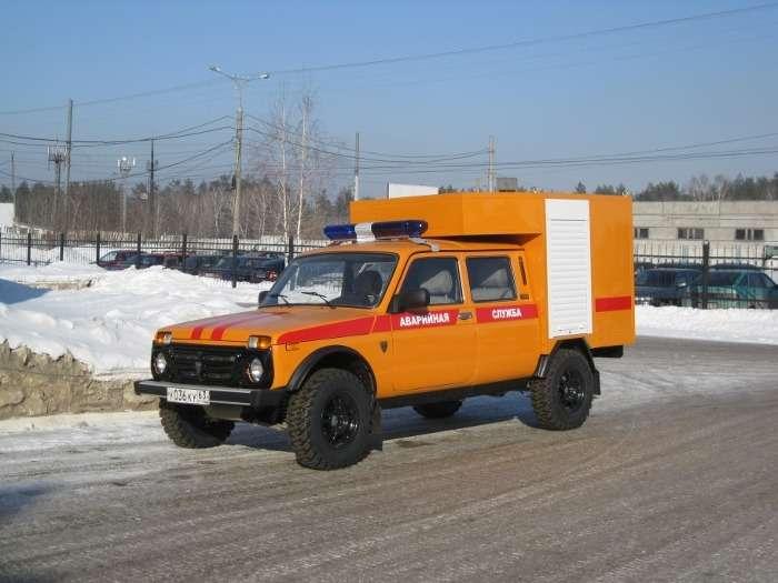 Lada 4Х4для газовой службы