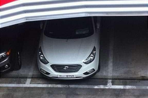 Hyundai ix35 FCEV top view