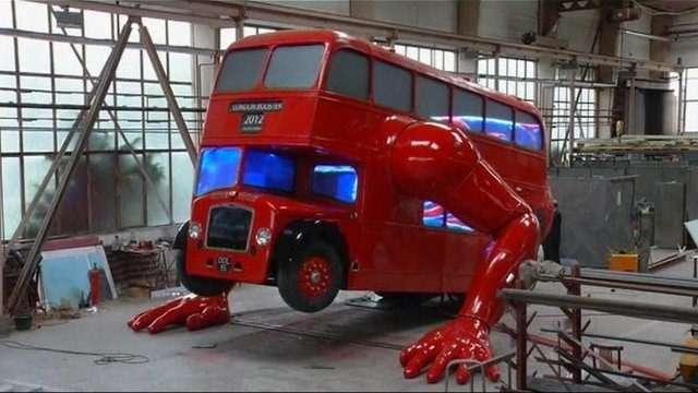 london bus push ups