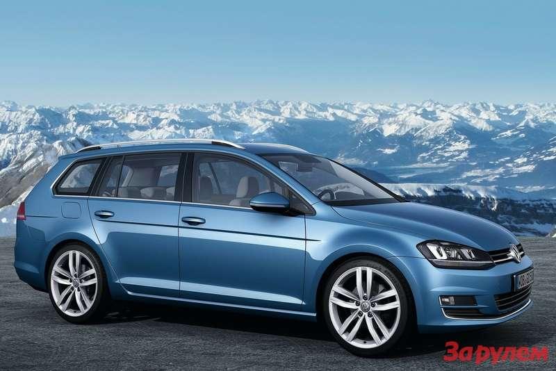 Volkswagen Golf Variant 2014 1600x1200 wallpaper 09