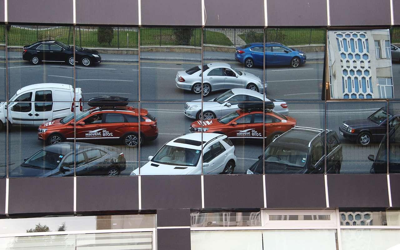 Автопробег «Зарулем»: Город ветров изаповедник Гобустан— фото 909893