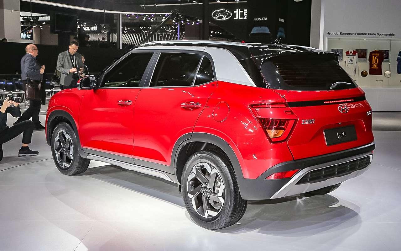 Новая Hyundai Creta— первые подробности— фото 966889
