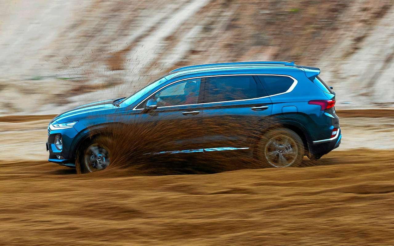 Hyundai Santa Feпротив конкурентов: большой тест кроссоверов— фото 931479