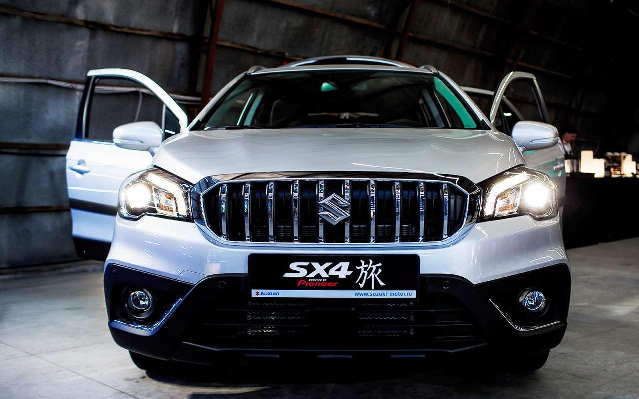 Suzuki озвучила цену нановую версию SX4 Tabi— фото 978708
