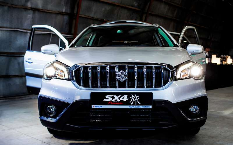 Suzuki озвучила цену нановую версию SX4 Tabi