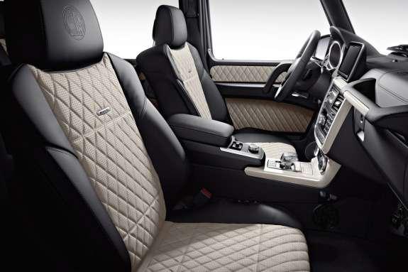 Mercedes-Benz G65AMG inside