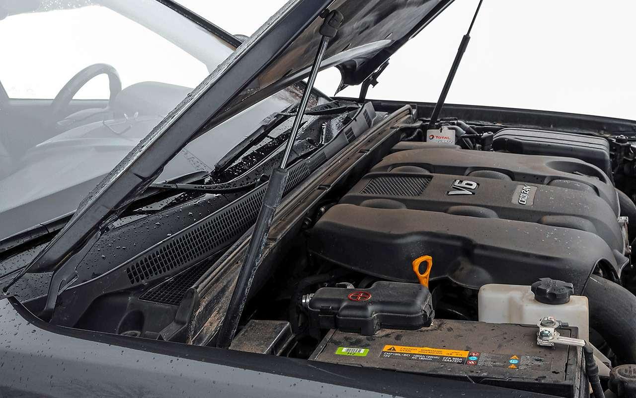 Toyota Fortuner, Mitsubishi Pajero Sport, Kia Mohave  — супертест — фото 855663