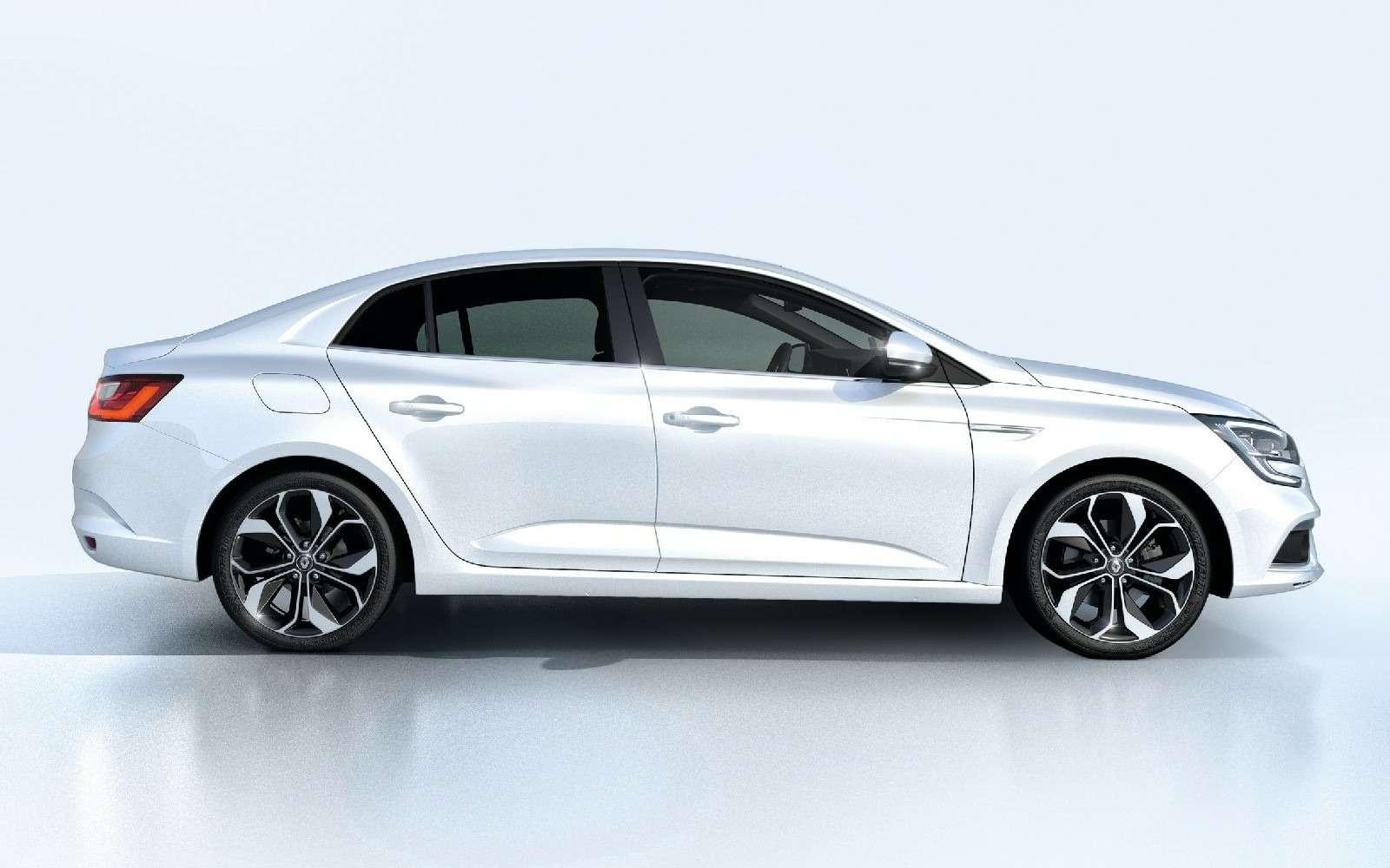 ИзТурции слюбовью: представлен новый седан Renault Megane— фото 607492