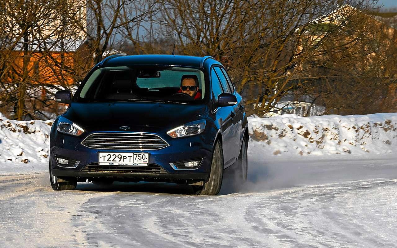 Большой тест универсалов: Ford против Kia— фото 959183