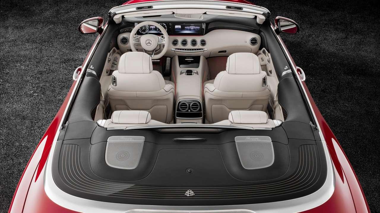 Царская особа: Mercedes-Maybach S650 Cabriolet раскрывает тайны— фото 664446