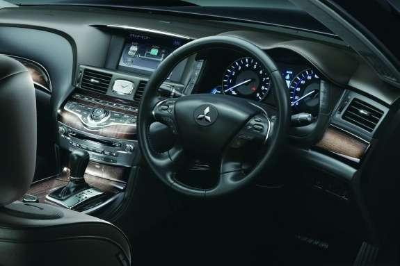 Mitsubishi Proudia inside