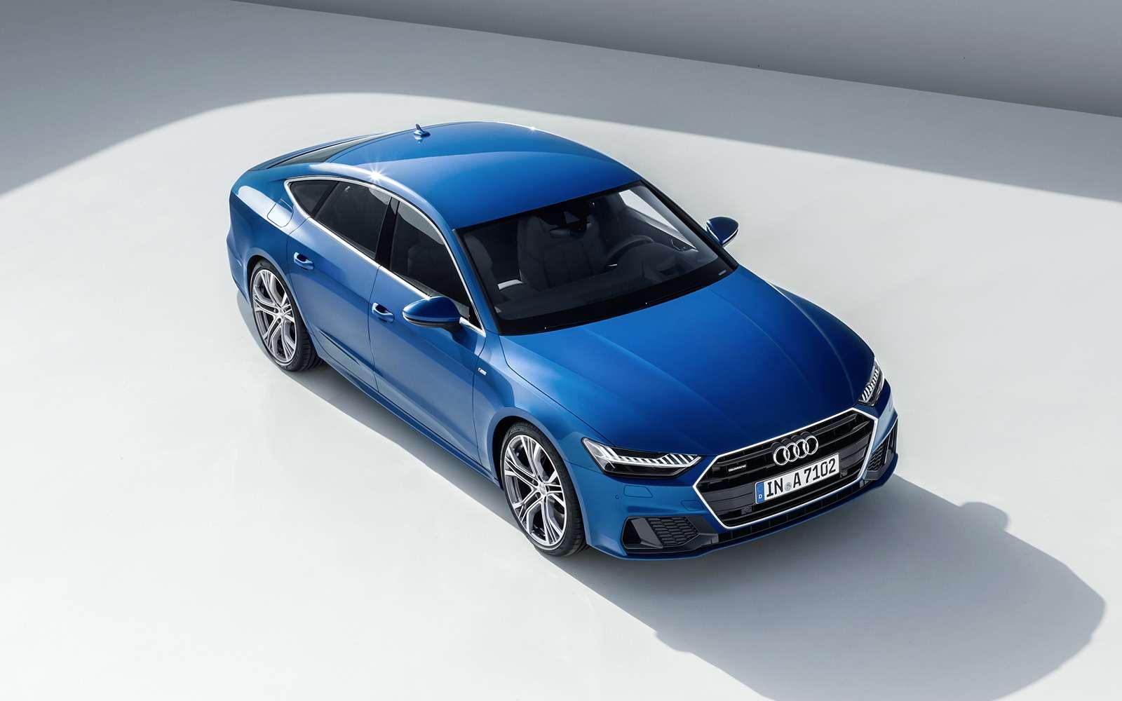 Новая Audi A7Sportback— вся насенсорах— фото 807135