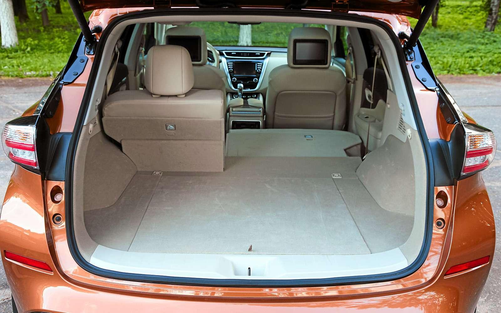 Новый Nissan Murano против конкурентов: длинные рубли— фото 691687