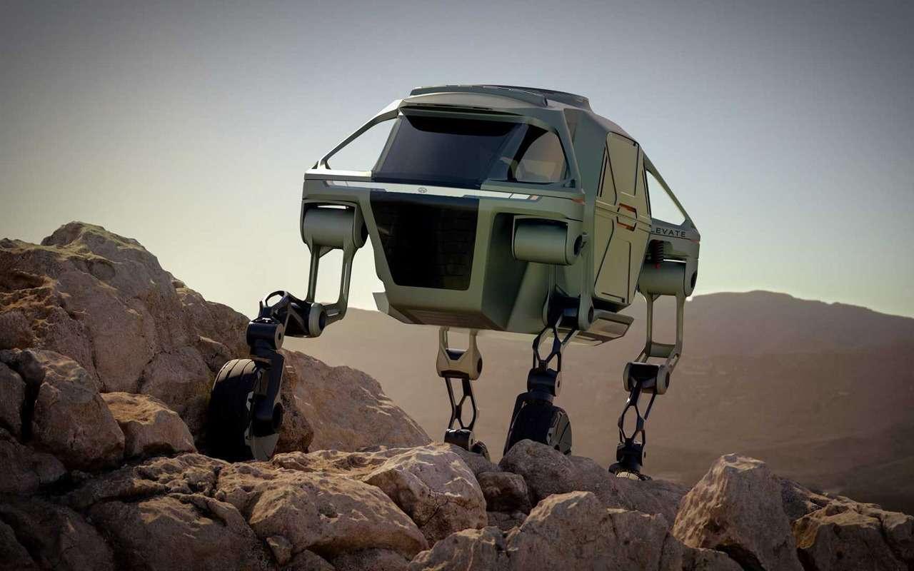 Hyundai представила шагающий автомобиль, или «Мудрые боги выдумали ноги»— фото 938704