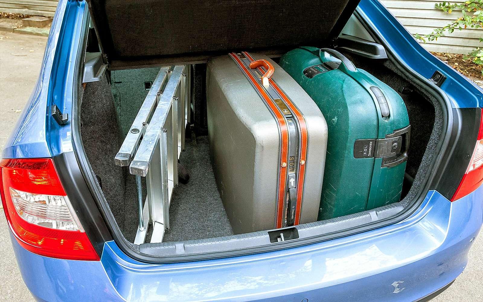 Багажник лифтбека