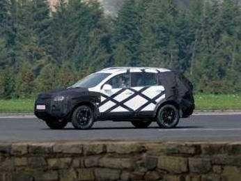 Новый Opel Frontera— пока вкамуфляже— фото 104113
