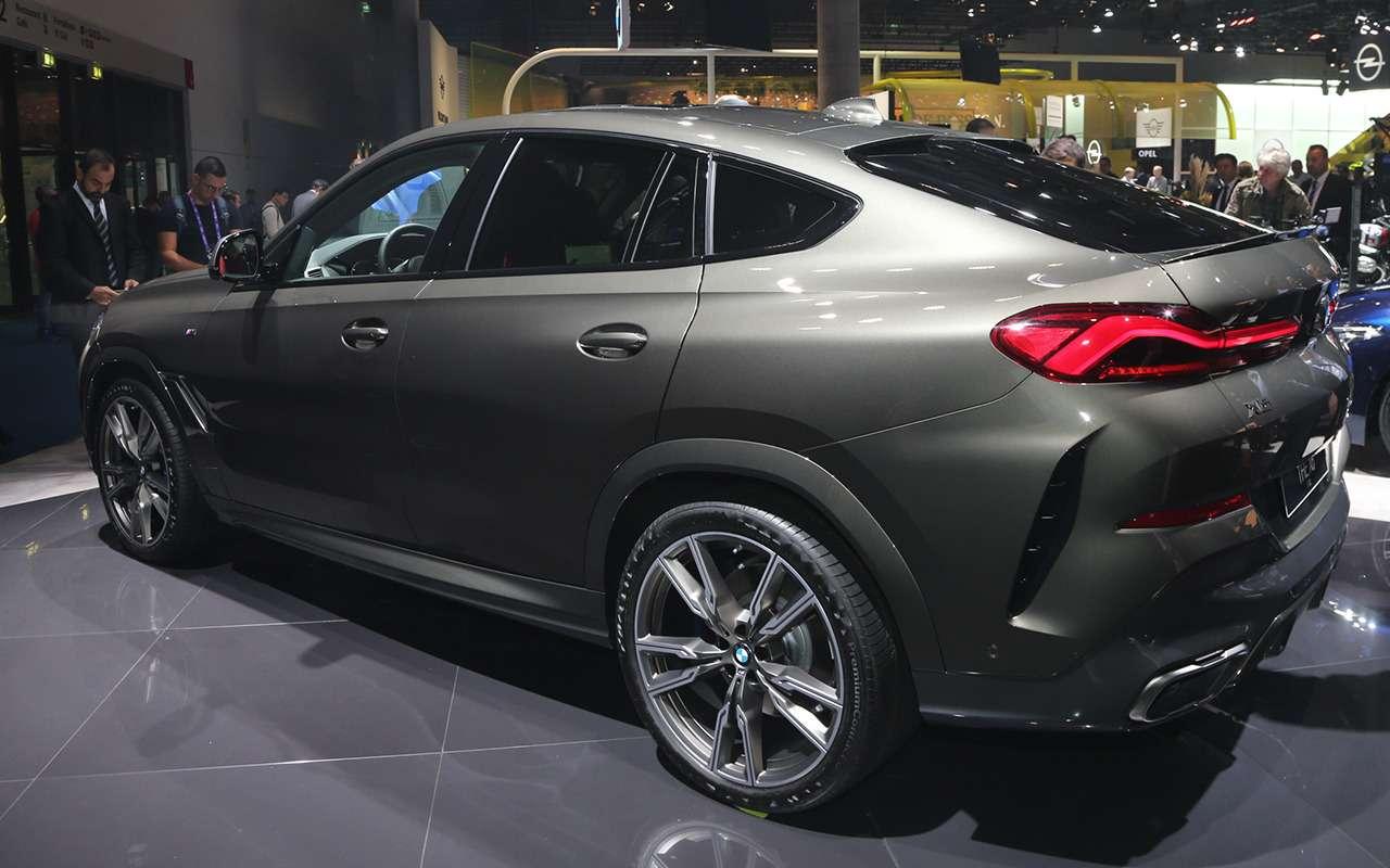 Новый BMW X6с памятью напоследние 50м пути: это как?— фото 995363
