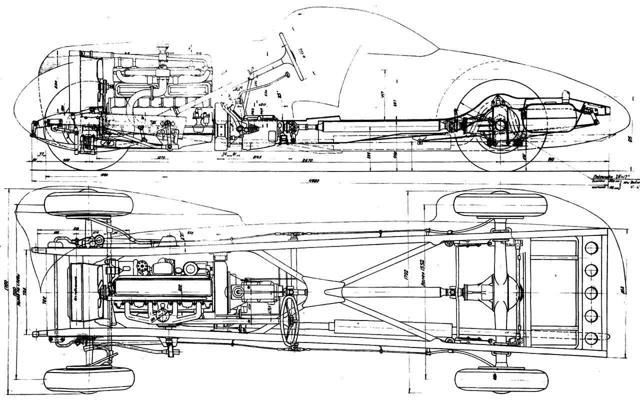 ЗИС-Спорт иГАЗ-А-Аэро— пропавшие спорткары изСССР— фото 1275774
