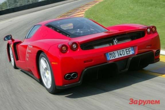 Ferrari Enzo side-rear view