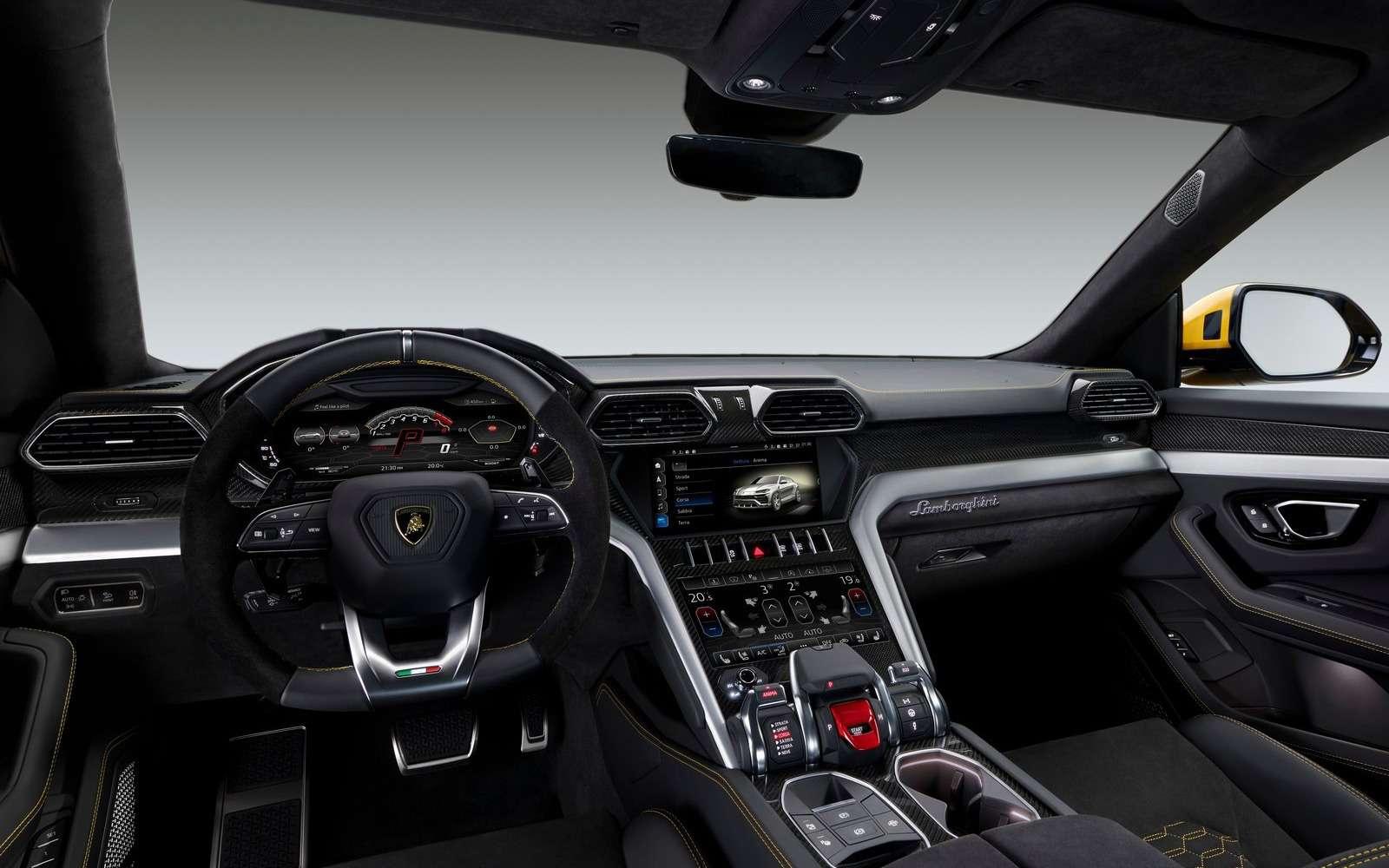 Lamborghini Urus: самый крутой кроссовер вмире— фото 823193