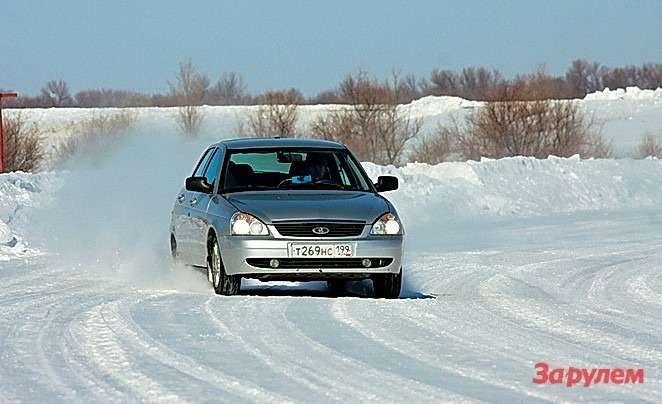 Поперечное сцепление шин определяется помаксимальной скорости наледяном иукатанном снежном кругах.
