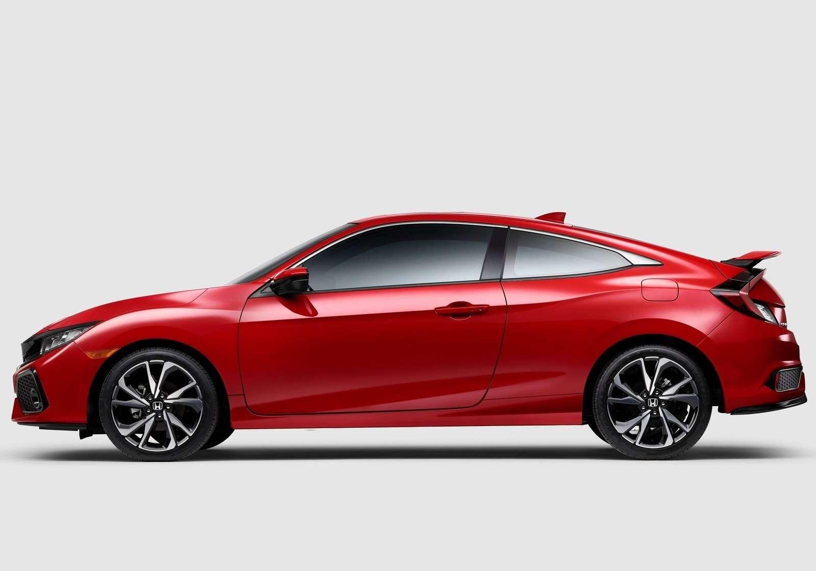 Трехпедальный наддувный: Honda засветила новый Civic Si— фото 733333