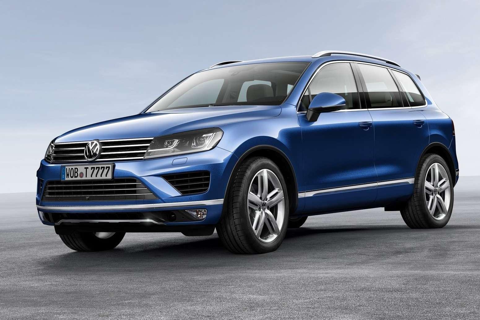 Обновленный Volkswagen Touareg