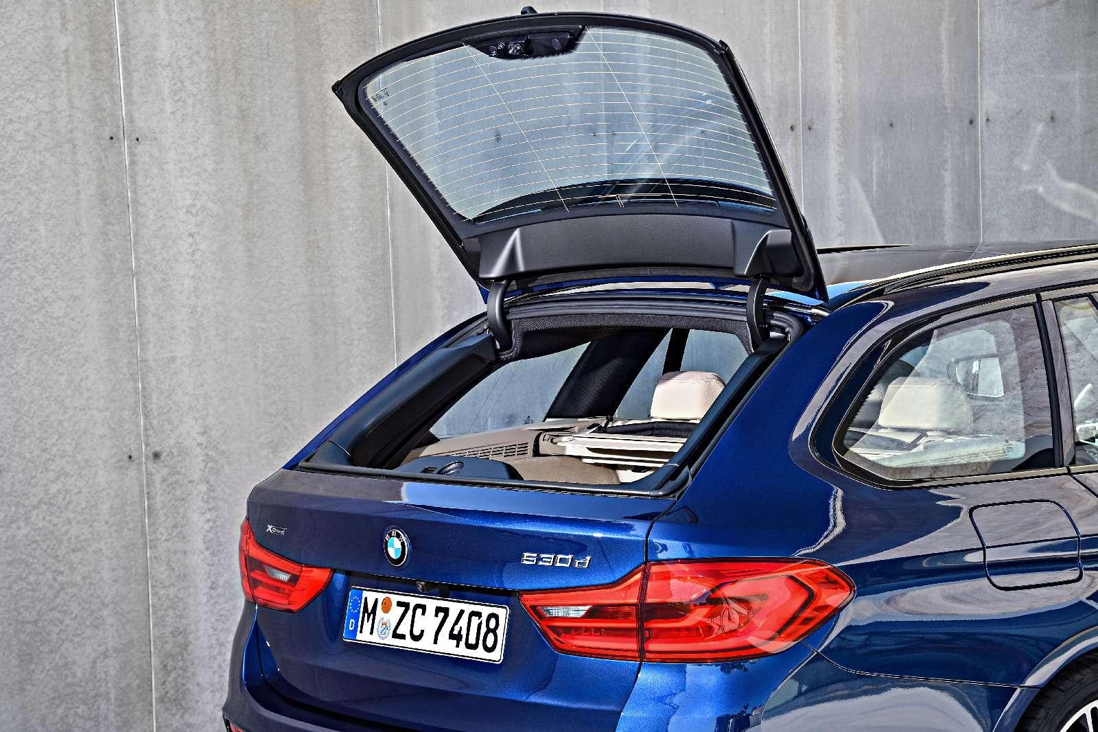 Новая «пятерка» BMW— теперь искузовом универсал— фото 701199