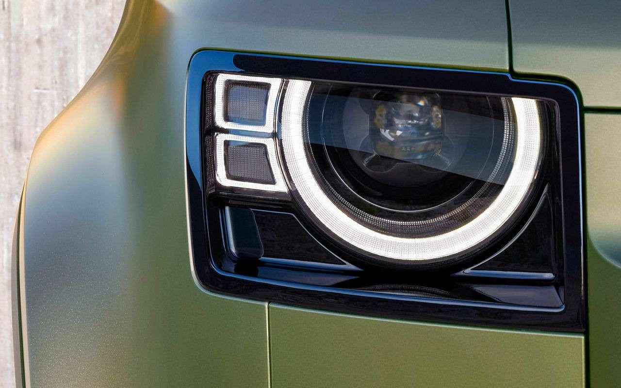 Новый Land Rover Defender: перечисляем главные отличия— фото 998222