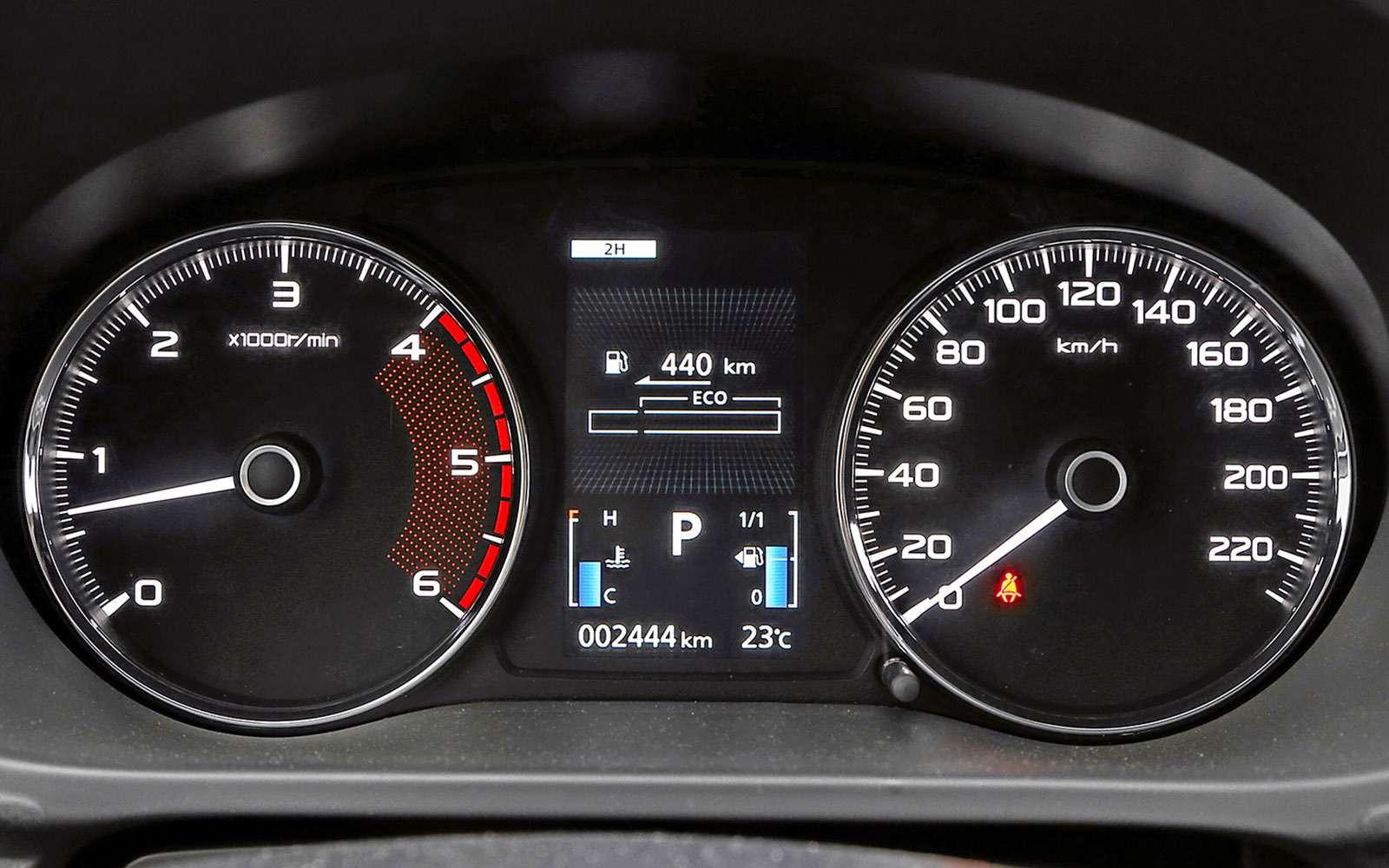 Mitsubishi Pajero Sport иKia Mohave— сравнительный тест настоящих внедорожников— фото 769870