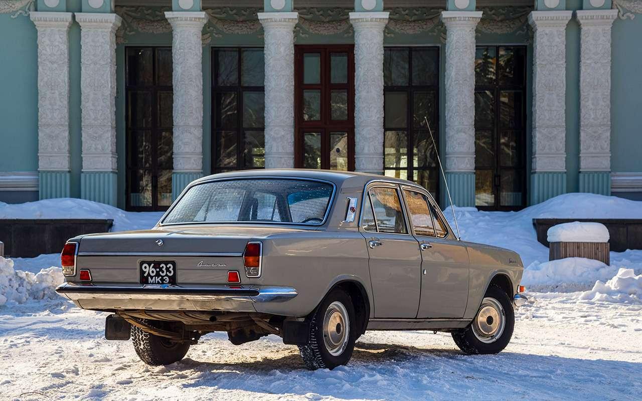 Советские автомобили против иномарок— супертест кюбилею— фото 858361